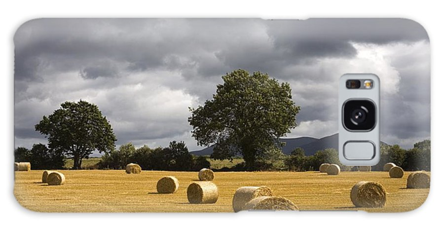 County Tipperary Galaxy S8 Case featuring the photograph Clogheen, County Tipperary, Ireland Hay by Richard Cummins