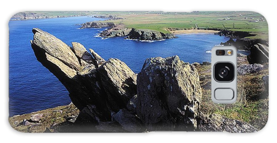 Co Kerry Galaxy S8 Case featuring the photograph Clogherhead, Co Kerry, Dingle by The Irish Image Collection