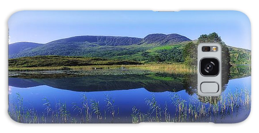 Blue Sky Galaxy S8 Case featuring the photograph Clonee Loughs Co Kerry, Ireland Lake by The Irish Image Collection