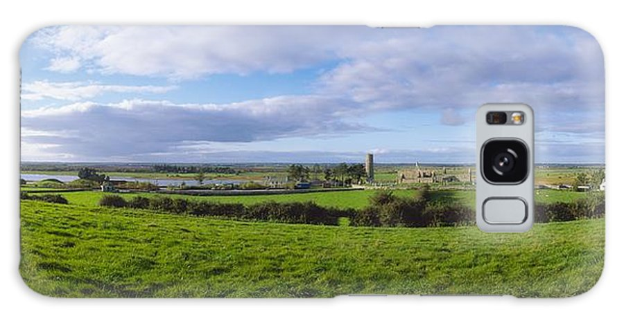 Co Offaly Galaxy S8 Case featuring the photograph Clonmacnoise, Co Offaly, Ireland by The Irish Image Collection
