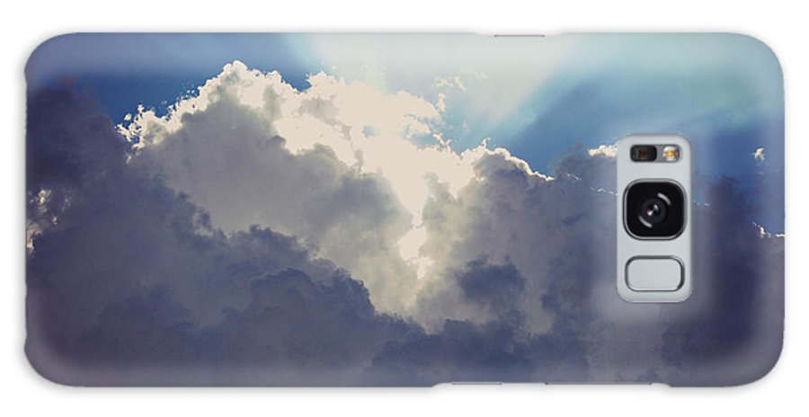Drama Queen Galaxy S8 Case featuring the photograph Clouds-6 by Paulette B Wright