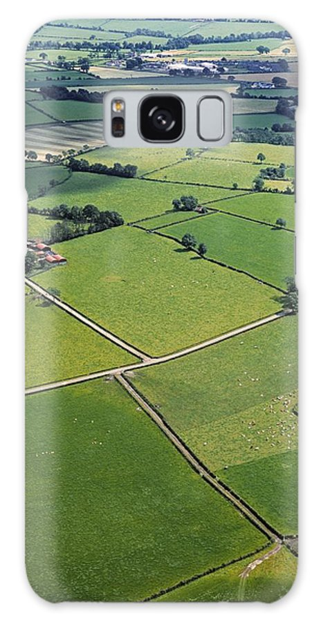 Agriculture Galaxy S8 Case featuring the photograph Co Fermanagh, Ireland Aerial View Of by The Irish Image Collection