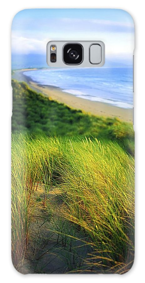 Blue Sky Galaxy S8 Case featuring the photograph Co Kerry, Castlegregory Sandunes by The Irish Image Collection