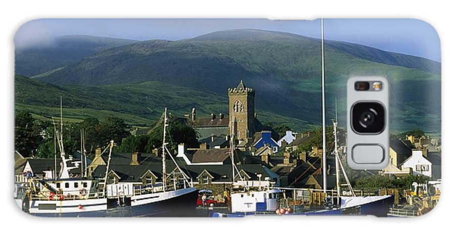 Architecture Galaxy S8 Case featuring the photograph Co Kerry, Dingle Harbour by The Irish Image Collection