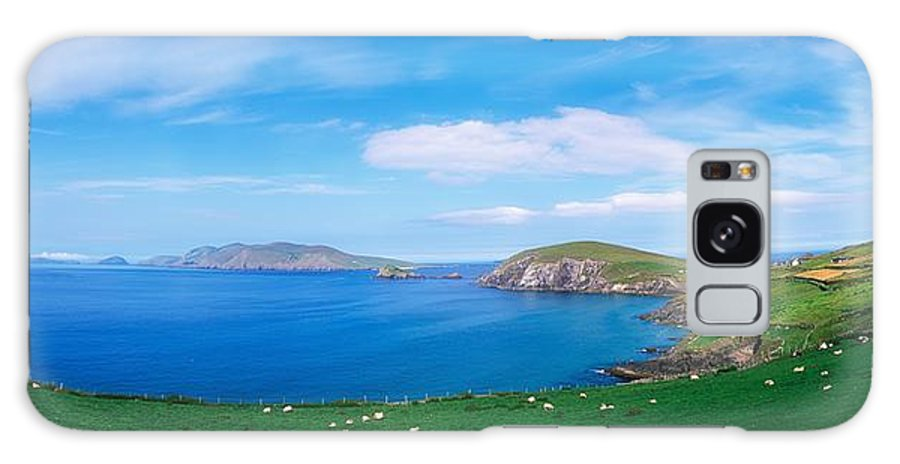 Coast Galaxy S8 Case featuring the photograph Co Kerry, Dingle Peninsula, Slea Head & by The Irish Image Collection
