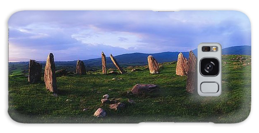Co Kerry Galaxy S8 Case featuring the photograph Co Kerry, Ireland, Stone Circle by The Irish Image Collection