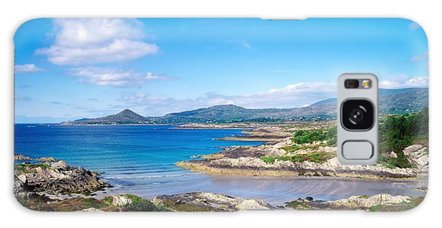 Castlecove Galaxy S8 Case featuring the photograph Co Kerry, Ring Of Kerry, Castlecove by The Irish Image Collection