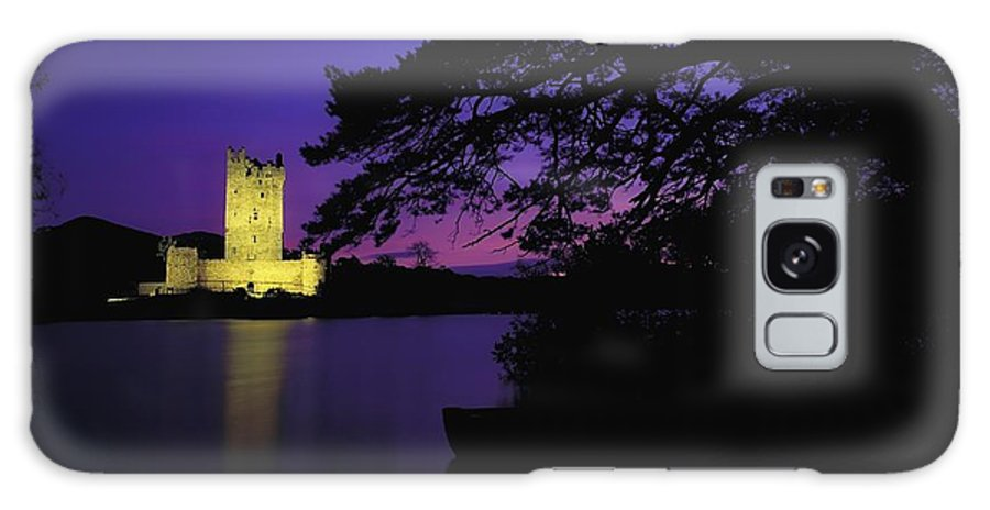 Architectural Heritage Galaxy S8 Case featuring the photograph Co Kerry, Ross Castle, Killarney by The Irish Image Collection