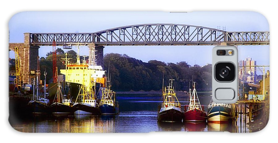 Blue Galaxy S8 Case featuring the photograph Co Louth, Drogheda And River Boyne by The Irish Image Collection