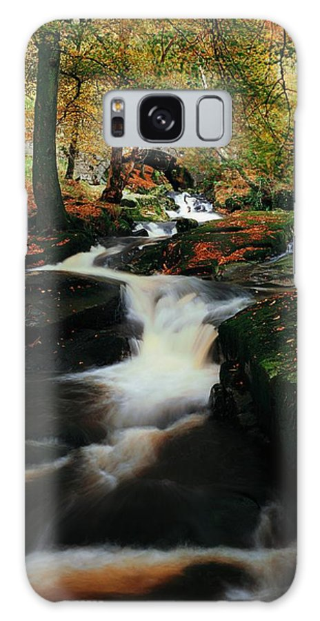 Beauty Galaxy S8 Case featuring the photograph Co Wicklow, Ireland Waterfalll Near by The Irish Image Collection