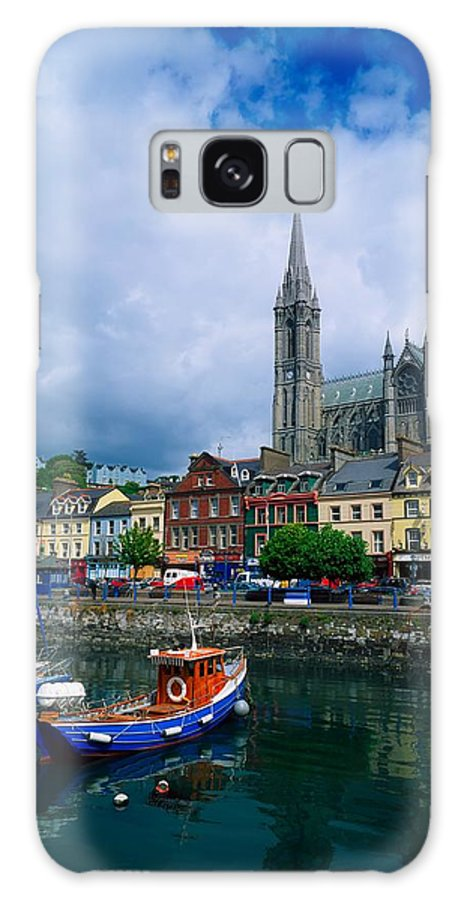 Atmosphere Galaxy S8 Case featuring the photograph Cobh Cathedral & Harbour, Co Cork by The Irish Image Collection