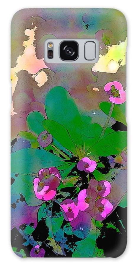 Floral Galaxy S8 Case featuring the photograph Color 116 by Pamela Cooper