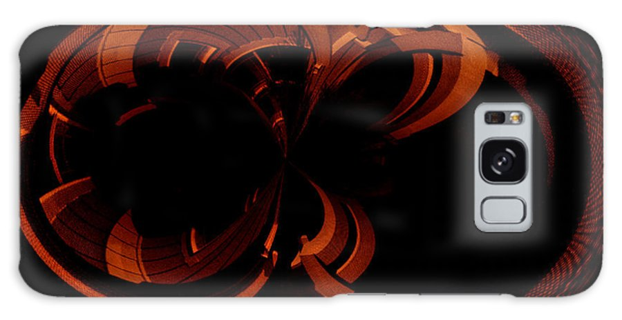 Paula Ayers Galaxy S8 Case featuring the digital art Color Study 03 Rust by Paula Ayers