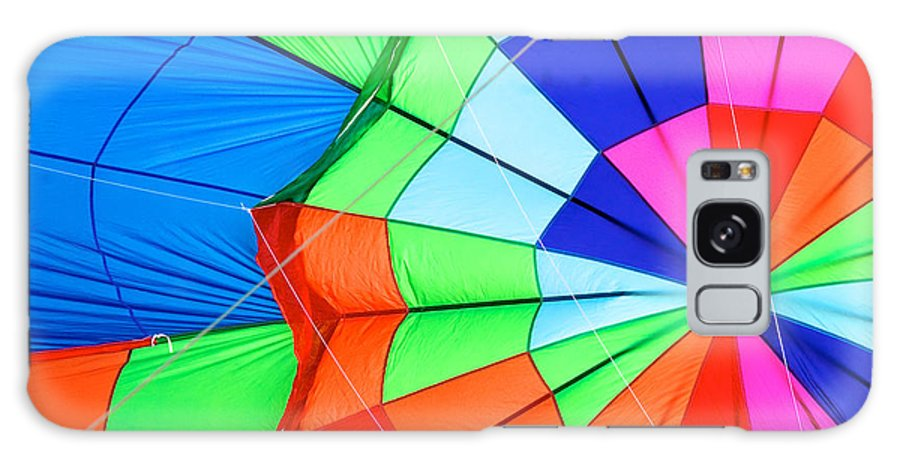 Hot Air Balloons Galaxy S8 Case featuring the photograph Color Wheel Take 2 by Mark Dodd
