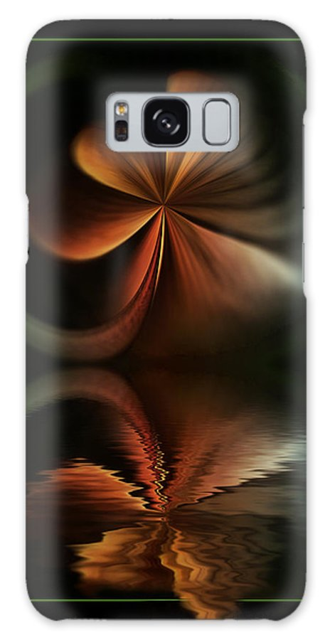 Abstract Galaxy S8 Case featuring the digital art Colorful Fantasy by Diane Dugas