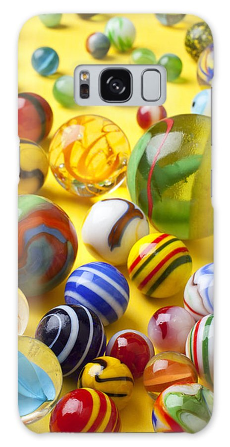 Marbles Galaxy S8 Case featuring the photograph Colorful Marbles Two by Garry Gay