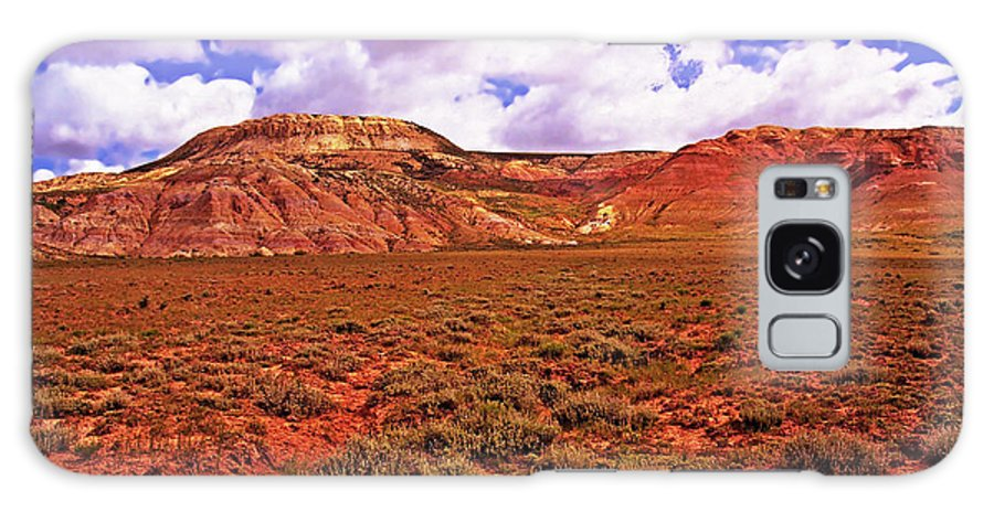 Wyoming Galaxy S8 Case featuring the photograph Colorful Mesas At Fossil Butte Nm Butte by Rich Walter