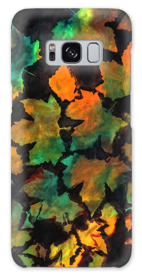 Autumn Galaxy S8 Case featuring the painting Colors Of Autumn by Harri Spietz