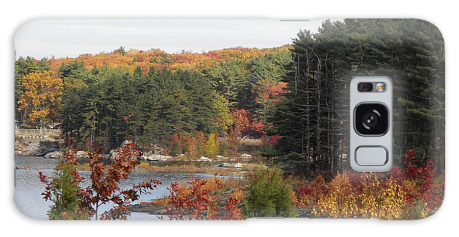 Fall Galaxy S8 Case featuring the photograph colors of fall in New England by Kim Galluzzo Wozniak