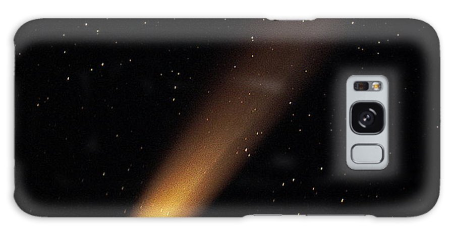 Comet Hyakutake Galaxy S8 Case featuring the photograph Comet Hyakutake by Eckhard Slawik
