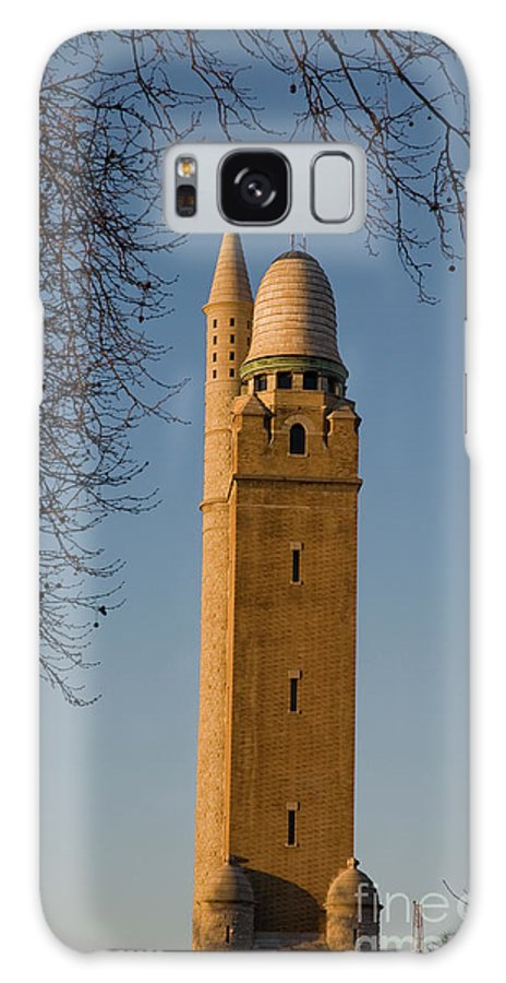 Water Tower Galaxy S8 Case featuring the photograph Compton Hill Water Tower by Tim Mulina
