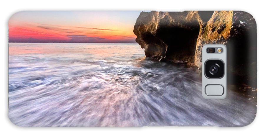 Clouds Galaxy S8 Case featuring the photograph Coquillage by Debra and Dave Vanderlaan
