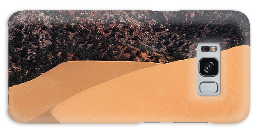 Bronstein Galaxy S8 Case featuring the photograph Coral Pink Sand Dunes by Sandra Bronstein