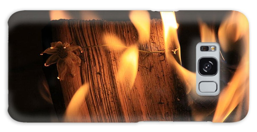 Fire Galaxy S8 Case featuring the photograph Cosmic Fire by Dana Kern