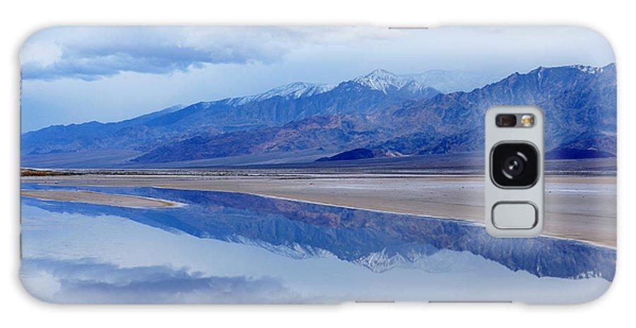 Basin Galaxy S8 Case featuring the photograph Cottonball Basin Death Valley by Dean Pennala