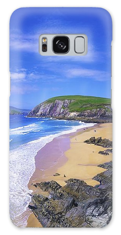 Beach Galaxy S8 Case featuring the photograph Coumeenoole Beach, Dingle Peninsula, Co by The Irish Image Collection