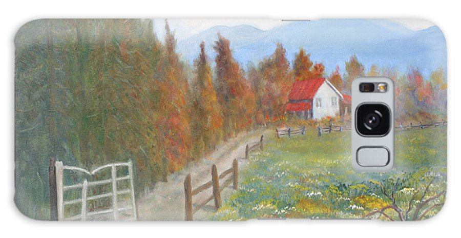 Galaxy Case featuring the painting Country Road by Ben Kiger