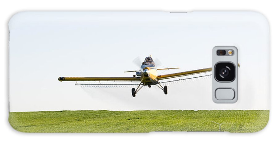 Plane Galaxy S8 Case featuring the photograph Crop Duster by Cindy Singleton