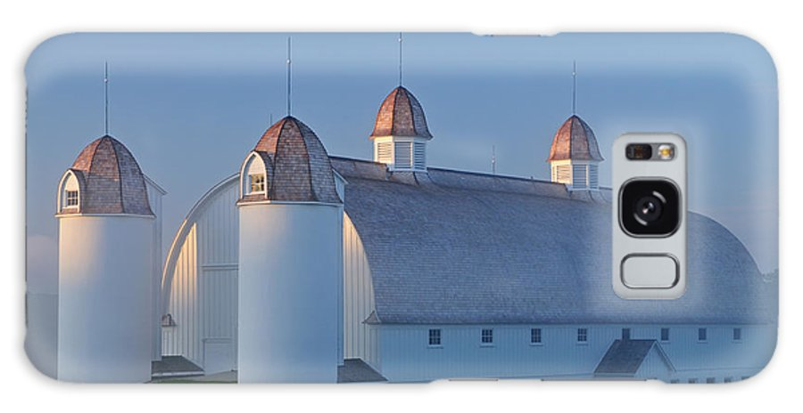 Agriculture Galaxy S8 Case featuring the photograph D H Day Barn by Dean Pennala