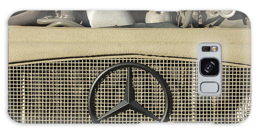 Daimler-benz A-g Galaxy S8 Case featuring the photograph Daimler-benz A-g Hood Emblem by Jill Reger