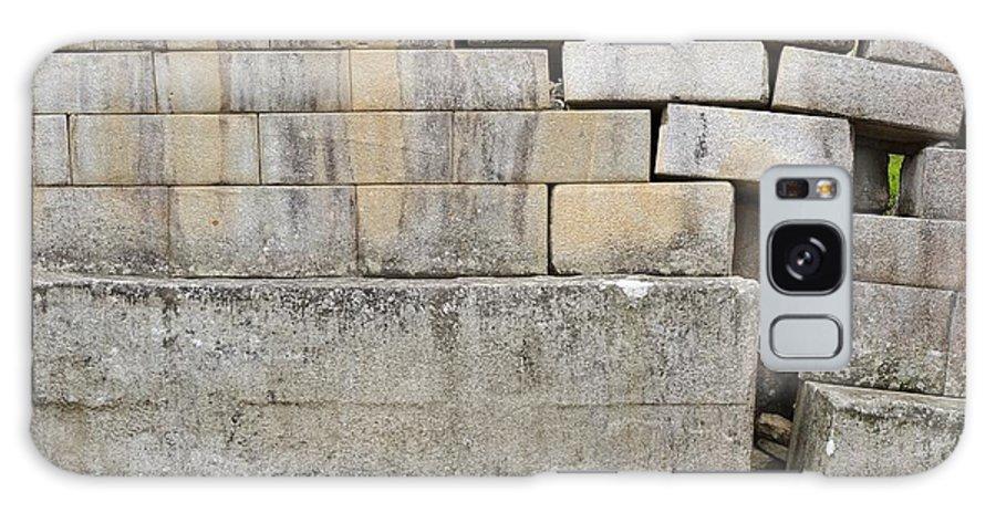 Machu Picchu Galaxy S8 Case featuring the photograph Damaged Wall, Machu Picchu, Peru by Matthew Oldfield
