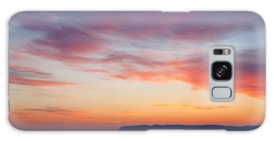 Bay Galaxy S8 Case featuring the photograph Dawn Sleeping Bear Bay by Dean Pennala
