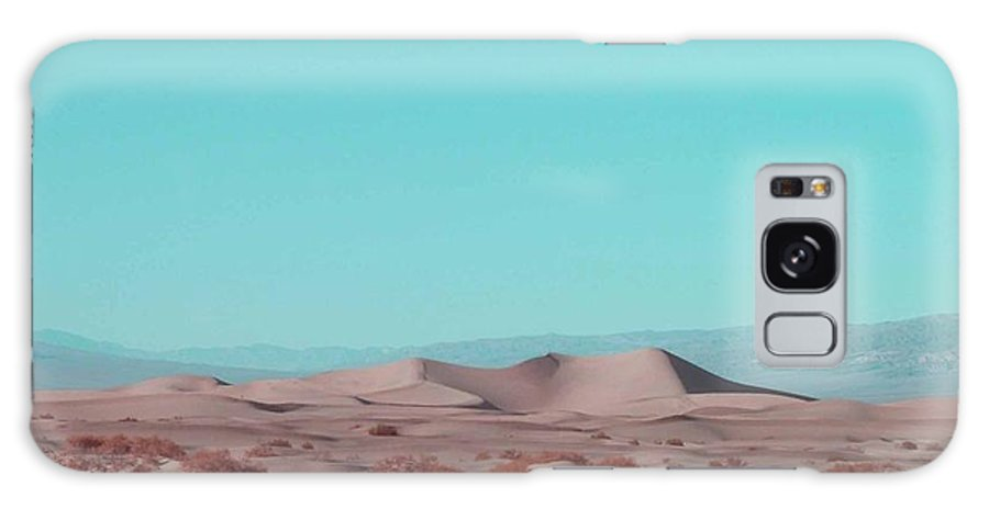 Nature Galaxy S8 Case featuring the photograph Death Valley Dunes 2 by Naxart Studio