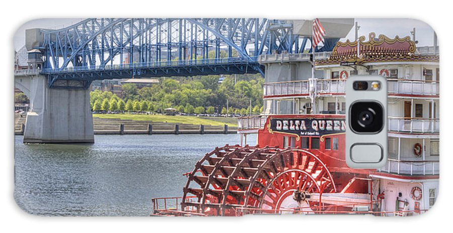 River Galaxy S8 Case featuring the photograph Delta Queen by David Troxel