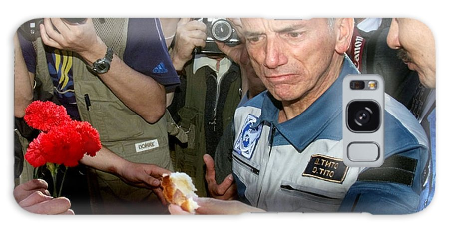 Dennis Tito Galaxy S8 Case featuring the photograph Dennis Tito, First Space Tourist by Ria Novosti