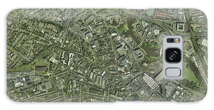 Derwent Galaxy S8 Case featuring the photograph Derby, Uk, Aerial Image by Getmapping Plc
