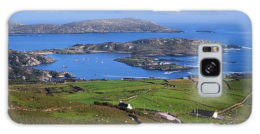 Boat Galaxy S8 Case featuring the photograph Derrynane Harbour, Caherdaniel, Ring Of by The Irish Image Collection