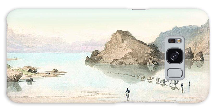 Mirage Galaxy S8 Case featuring the photograph Desert Mirage, 1854 Artwork by Detlev Van Ravenswaay