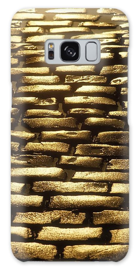 Architectural Detail Galaxy S8 Case featuring the photograph Detail Of Cobblestones, Dublin, Ireland by The Irish Image Collection