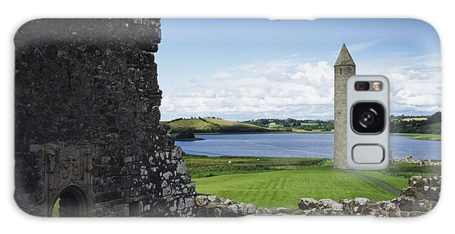Outdoors Galaxy S8 Case featuring the photograph Devenish Monastic Site, Lough Erne, Co by The Irish Image Collection