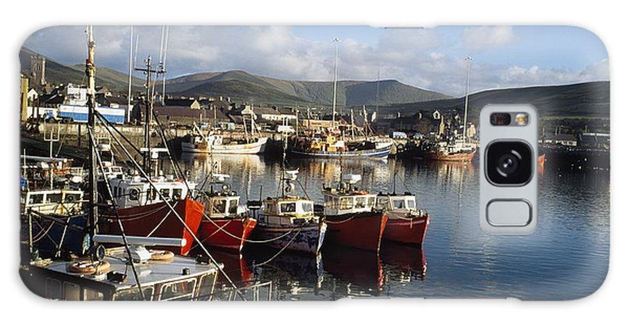 Outdoors Galaxy S8 Case featuring the photograph Dingle, Co Kerry, Ireland Boats In A by The Irish Image Collection