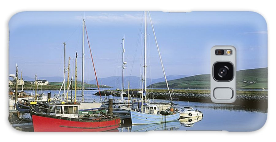 Blue Sky Galaxy S8 Case featuring the photograph Dingle Peninsula, Dingle Harbour by The Irish Image Collection