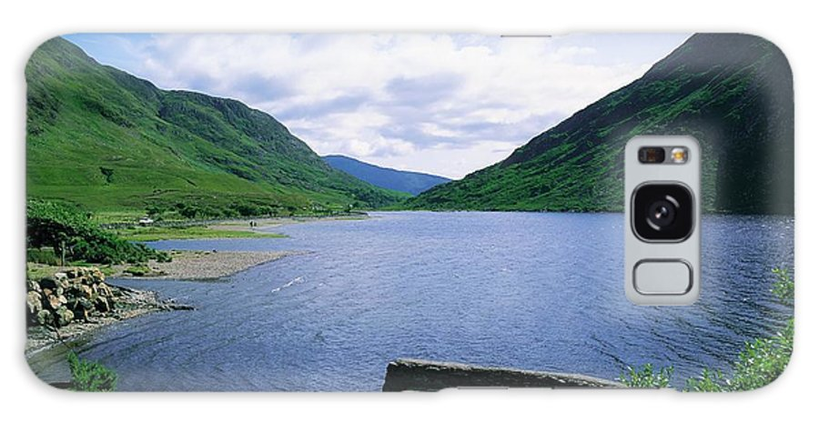 Beauty In Nature Galaxy S8 Case featuring the photograph Doo Lough, Delphi, Co Mayo, Ireland by The Irish Image Collection