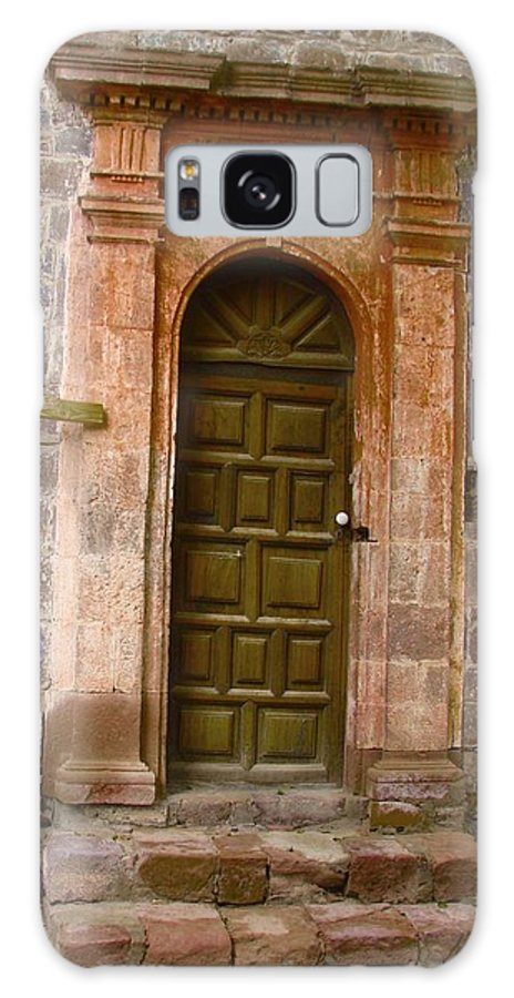 Door Galaxy S8 Case featuring the photograph Doorway To... by Ramie Liddle