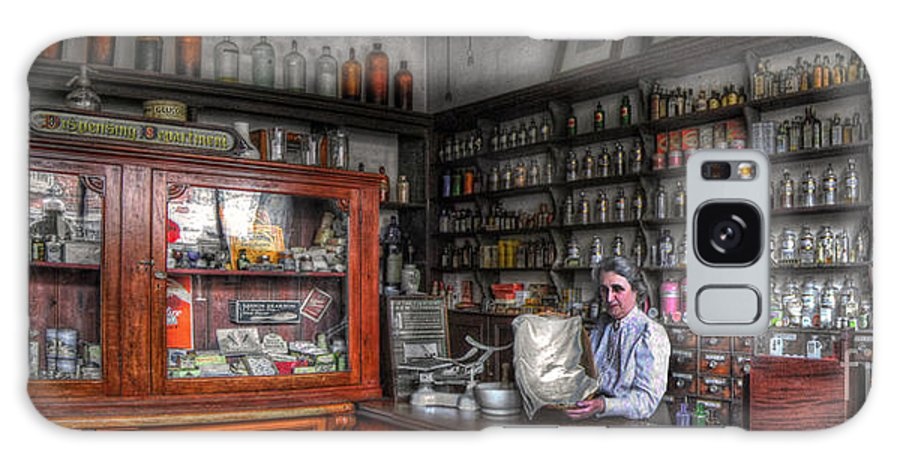 Art Galaxy S8 Case featuring the photograph Doo's Chemist by Yhun Suarez