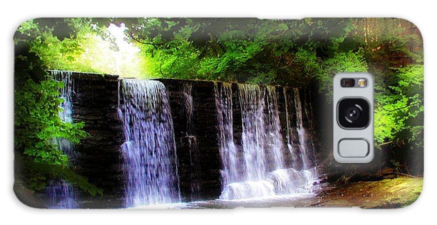 Dove Lake Falls Galaxy S8 Case featuring the photograph Dove Lake Falls by Bill Cannon